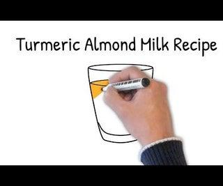 How to Make a Healthy Almond Milk Turmeric