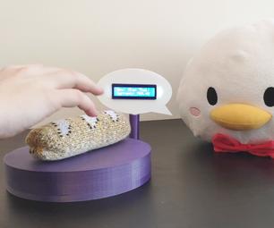 Gesture Sensing E-textiles