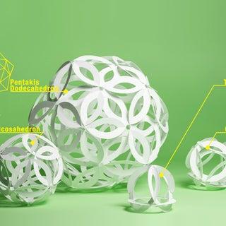 PAZO  Icosahedron Ball Lamp