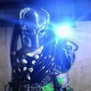 Interactive Predator Costume With Head Tracking Plasma Cannon