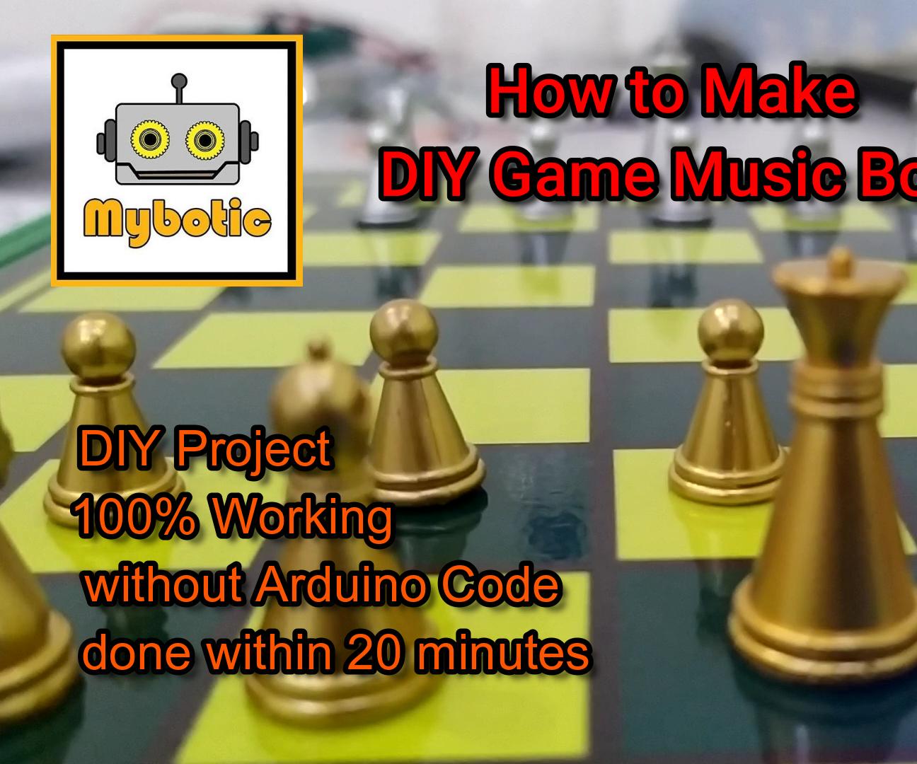 How to Make DIY Game Music Box
