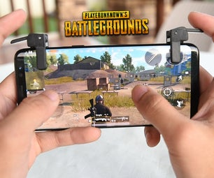 DIY Phone Trigger Buttons (PUBG/ ROS/ Fornite)