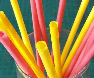 Make Paper Straws