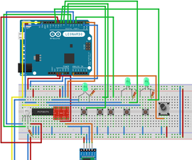 RGB Led Controlled by Bluetooth or Potentiometer