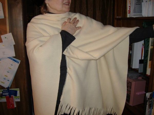 Fits All Sizes Stylish Poncho Wrap