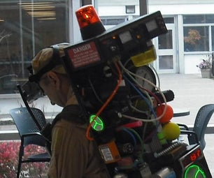 Ghostbusters Proton Pack With Lighting