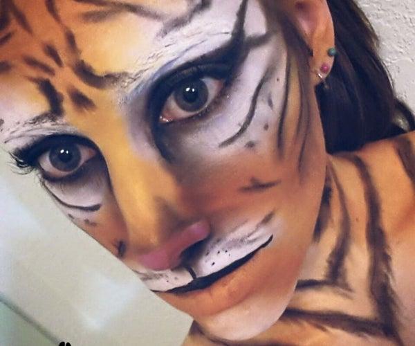 Request: Tiger Makeup Transformation