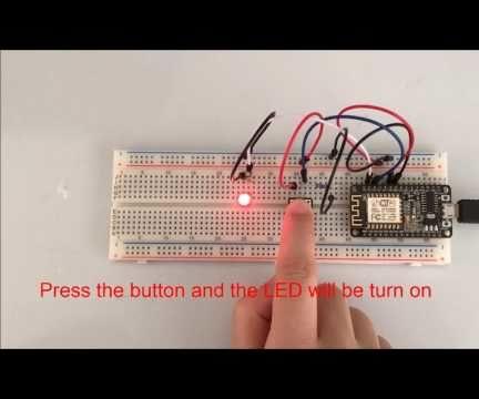 NodeMCU Project—Button Control LED