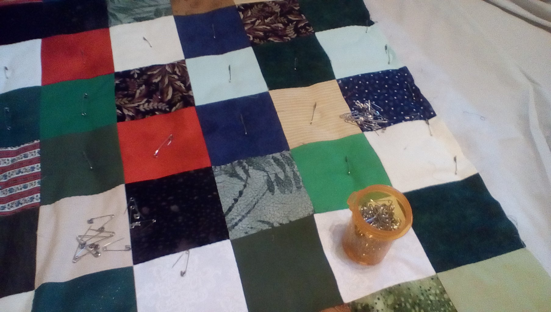 Layering Your Quilt