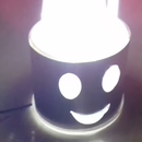 Smiley Lamp for Night Light