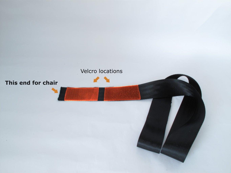 Adding Velcro