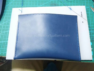 Fold the Inner Pouch and Sew Both Sides.