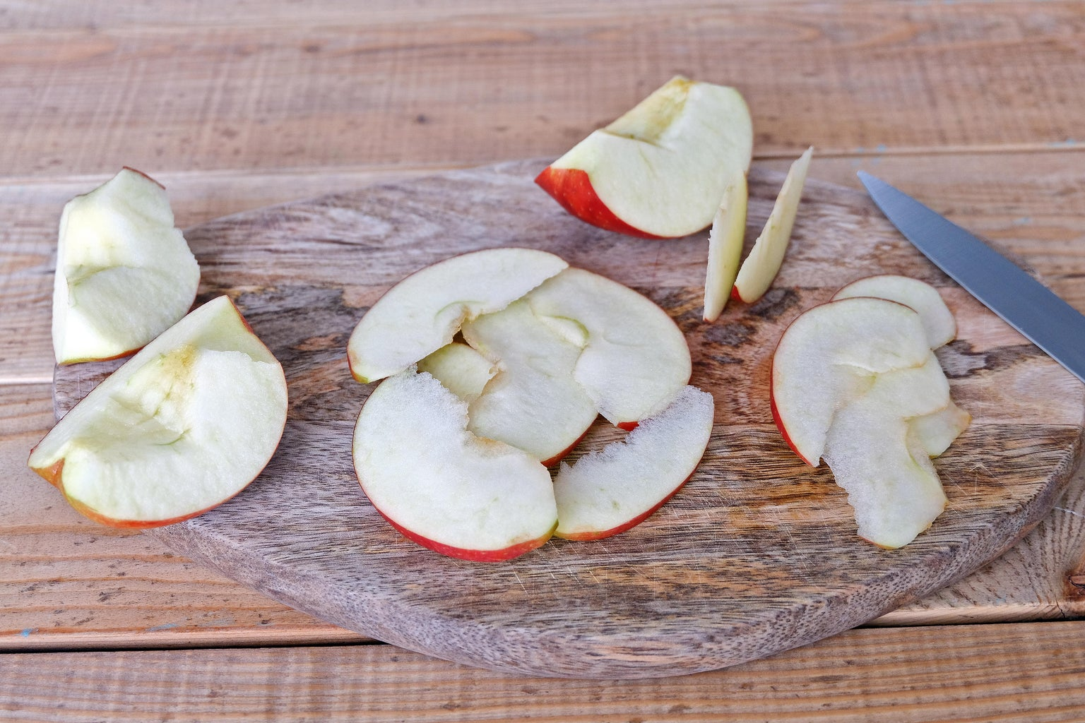 Prepare Apples