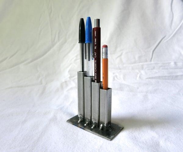Simple Industrial Pencil Holder