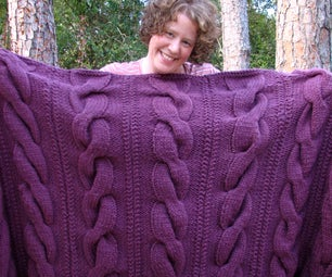 Cable Comfort Throw