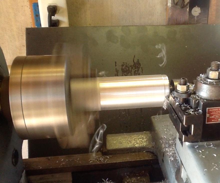Casting Aluminum Billets For Lathe Turning
