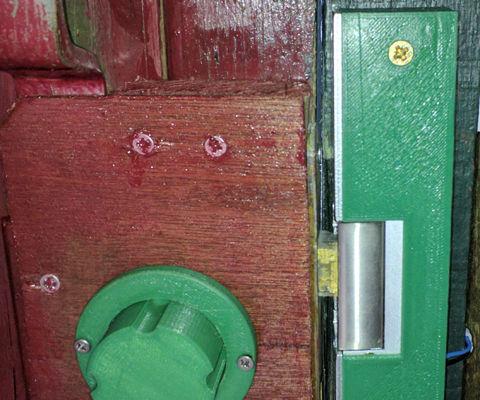 Electric Garden Door Lock