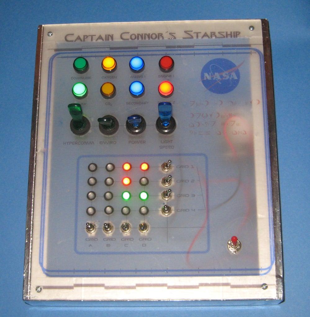 "Kids ""Spaceship Control Panel"" Prop"