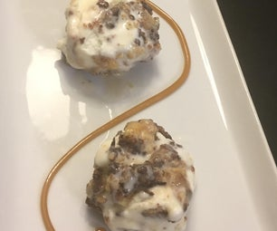 Ice Cream Chocolate Chip Cookie Balls