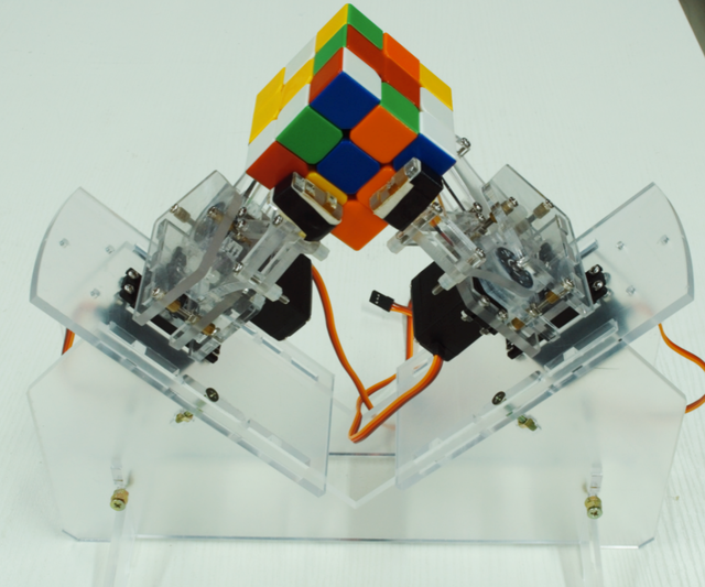 Cool! Cube Solver Robot With Arduino