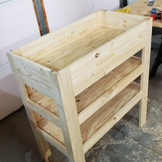 Baby Change Table With Storage Shelves