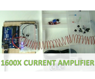 1600X Current Amplifier