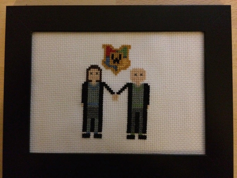Harry Potter Cross Stitch: Wedding