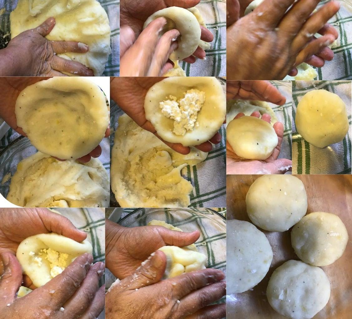 Creating Each Potato Creation