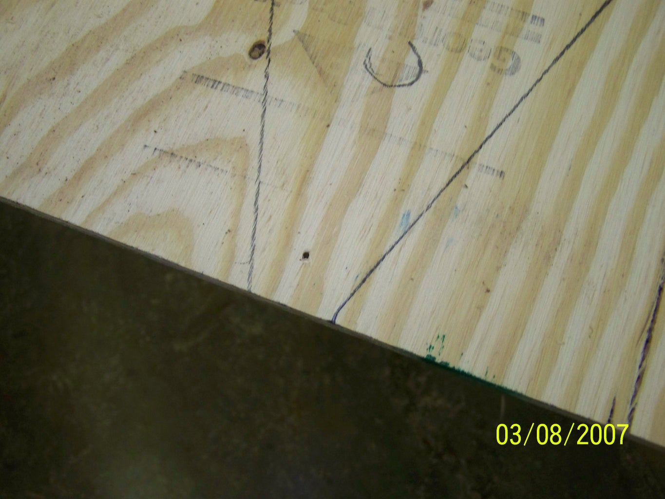 Marking and Cutting the Bottom