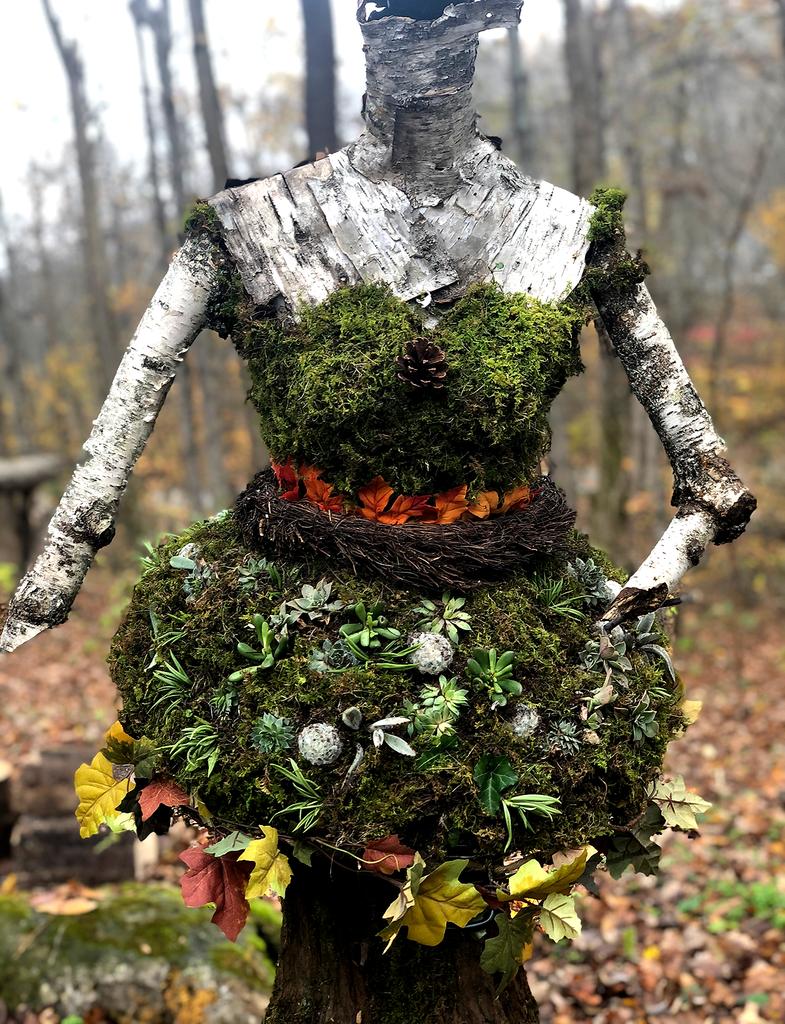 Evergreen Living Wood Nymph