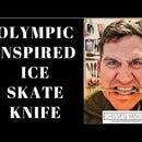 Cuchillo de patinaje sobre hielo de inspiración olímpica