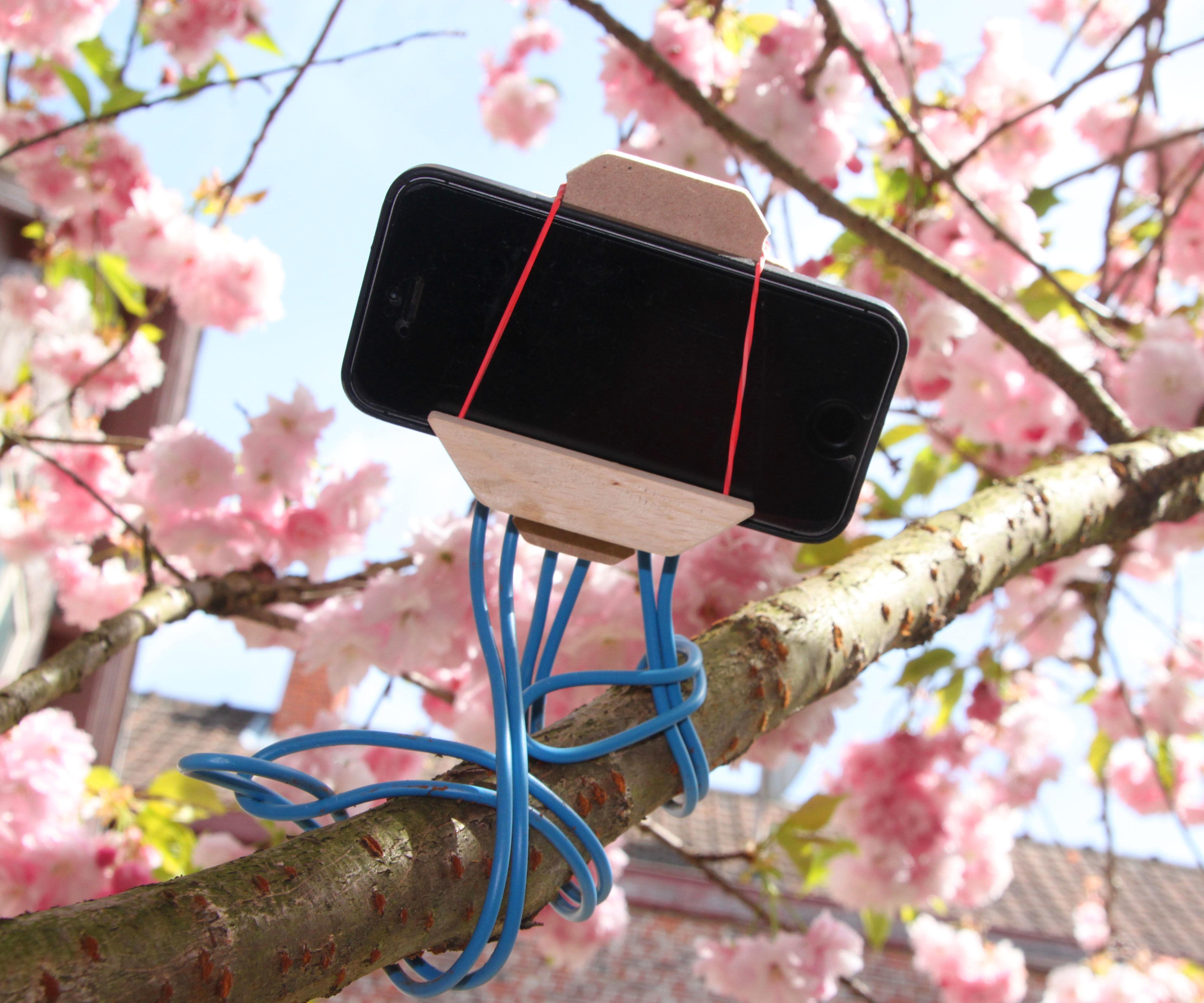 Flexible Smartphone Tripod