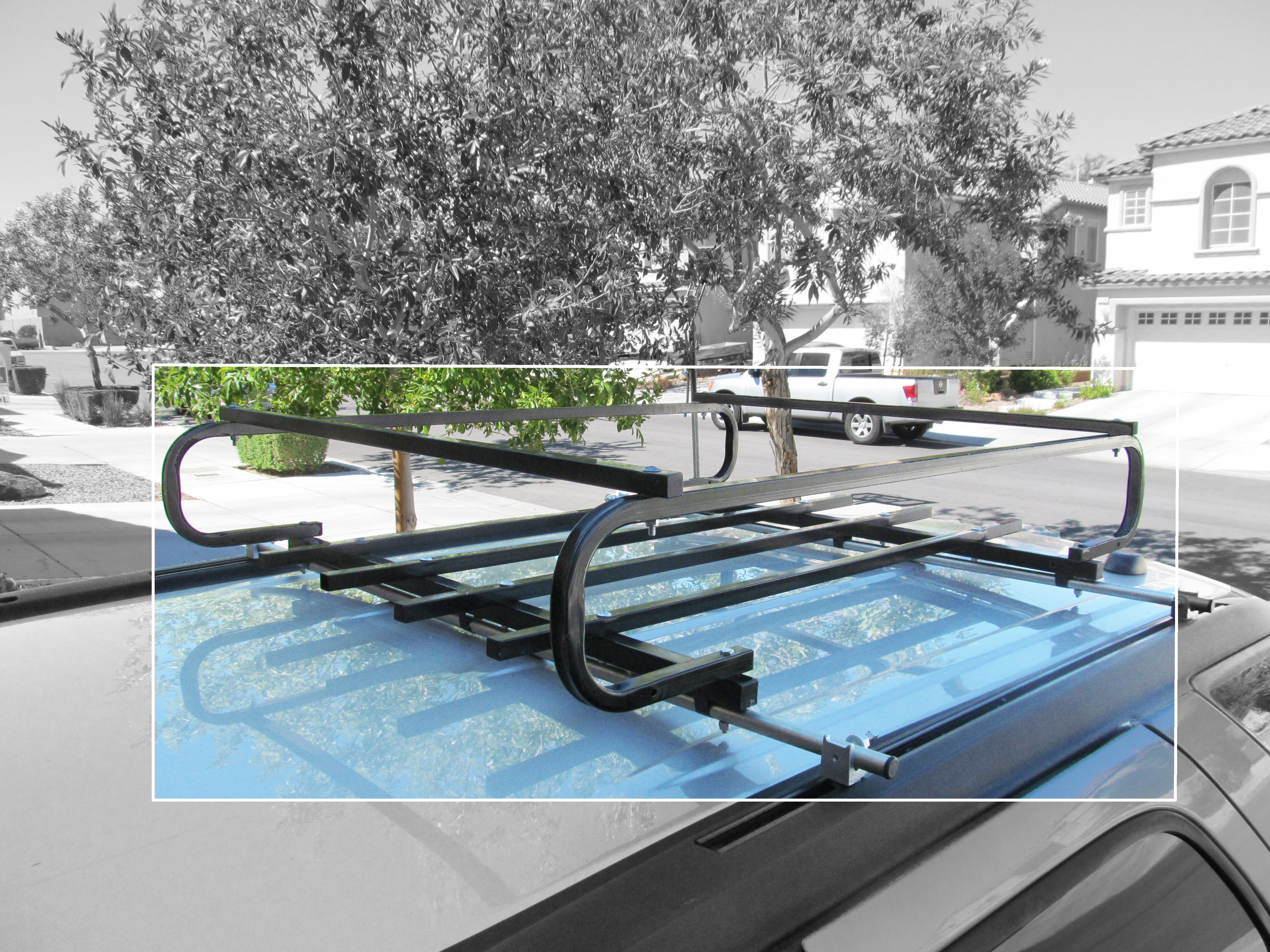 DIY Roof Rack Cross Bars