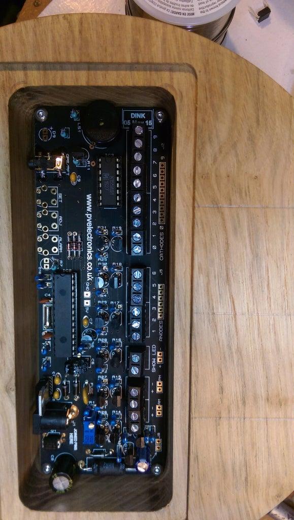 The Atomium Clock Electronics