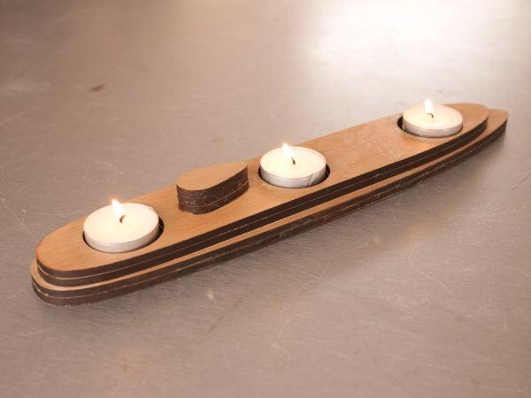 Submarine Candle Holder