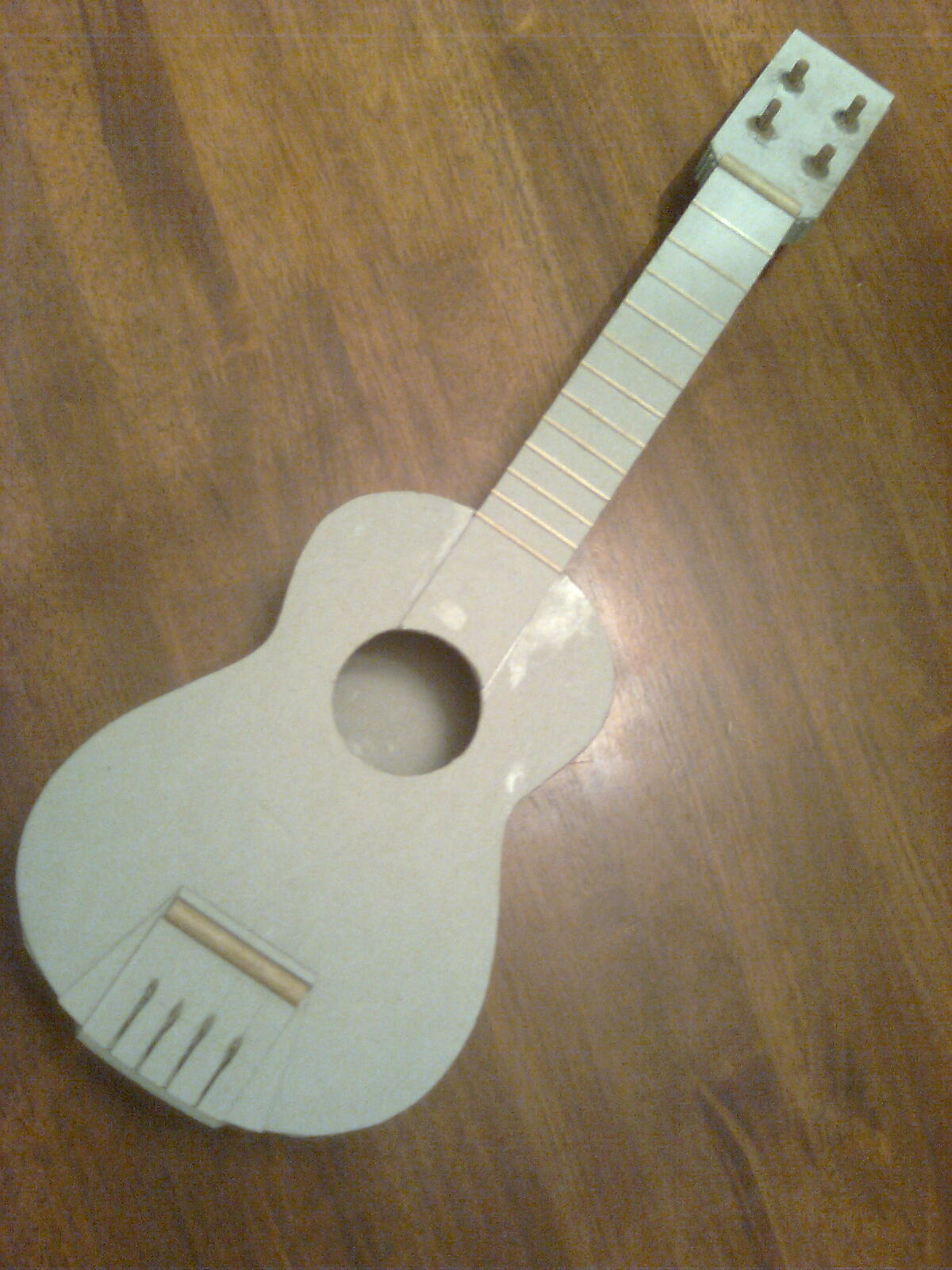 Make a Ukulele out of Cardboard