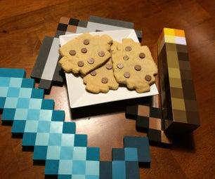 Minecraft Chocolate Chip Cookies IRL