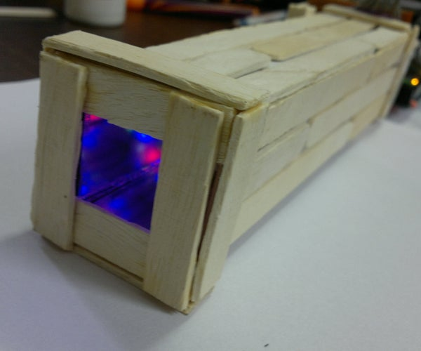 Kaleiduino: a Battery Powered Arduino LED Kaleidoscope