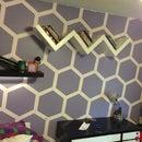 Hexagon Wall room makever