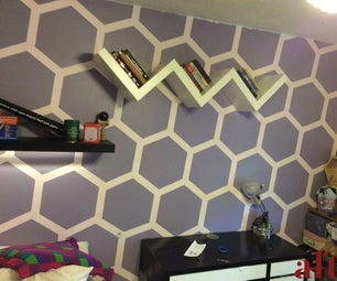Hexagon Wall Room Makever