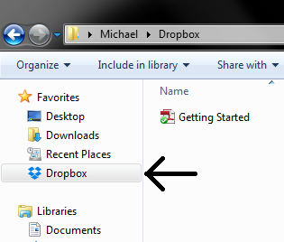 Finish Setup of Dropbox