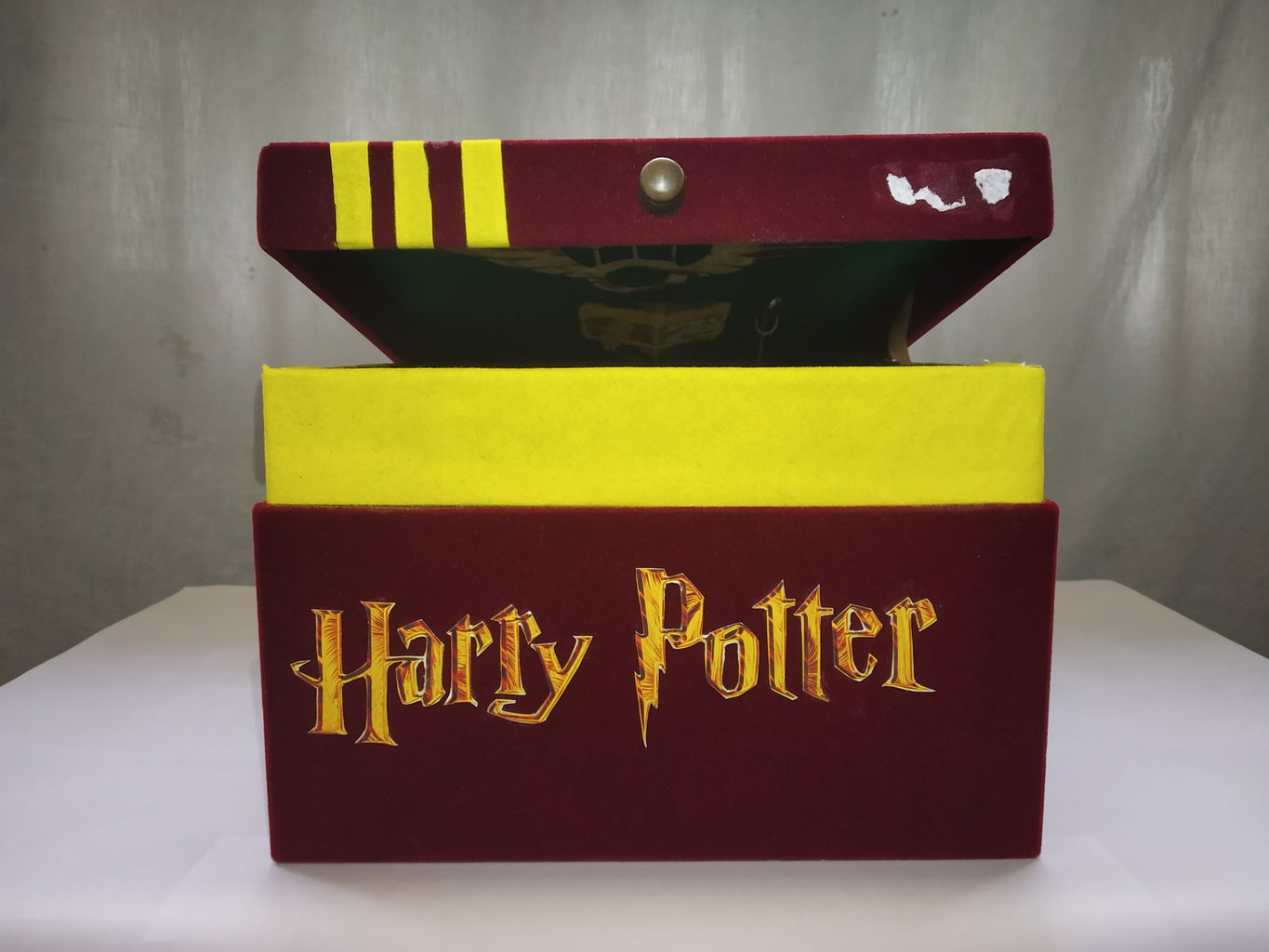 Making the Box Harry Potter Themed