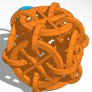 Tessalated Rings Snowflake