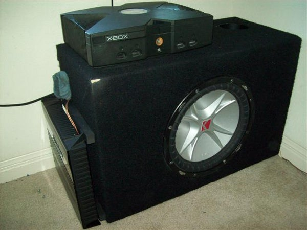 Use an Old Xbox PSU to Power a Car Amplifier.
