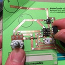 PaperSynth: an 8-bit Synthesizer Made Out of Paper and Copper Foil