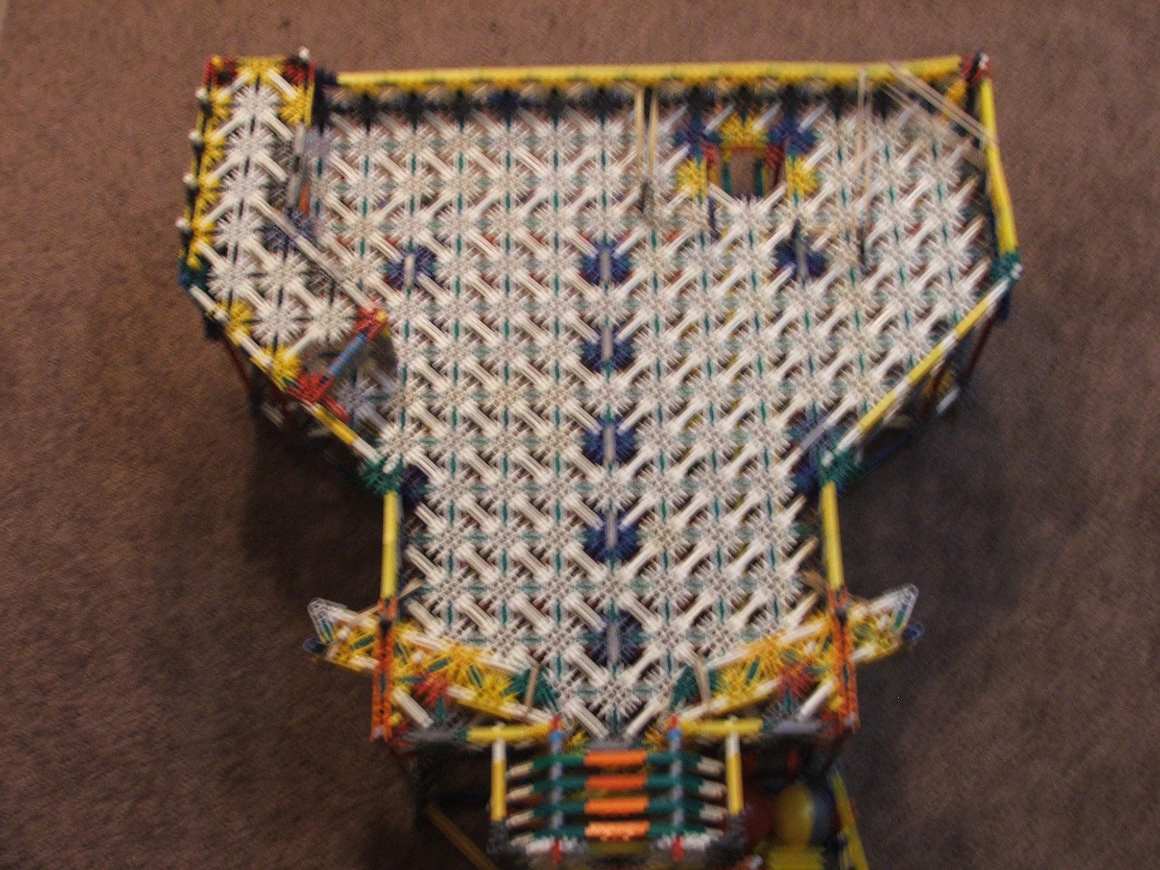 The knex Pinball machine
