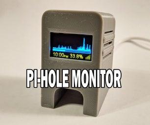 Pi-hole Monitor ESP8266 With OLED Display