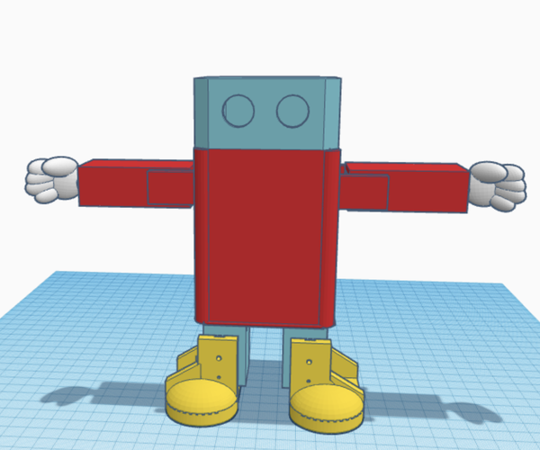 Shybot, the Distance Activated Dancing Robot