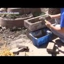 DIY Outdoor Firepit Coal Charcoal Fire Stove Weekend Project - Quick Easy Cheap Firepit