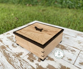DIY Multi-Leveled Jewelry Box With Exotic Wood
